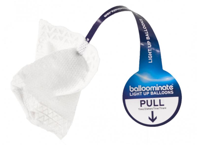 Balloominate - Ballon LED Lampje - Wit - 5 st.