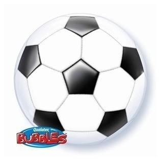 Bubbles voetbal - Zwart /Wit - 22 inch/56cm