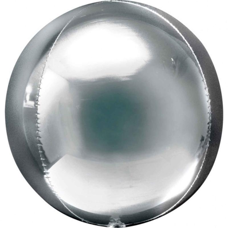 Orbz- Zilver - 38x40cm