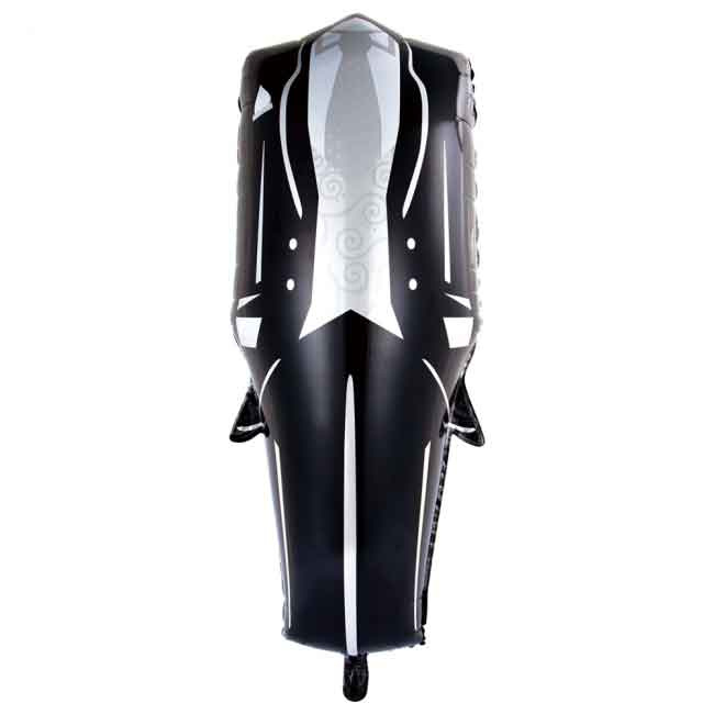 Trouwpak - XXL Folie Ballon -  57x118 cm