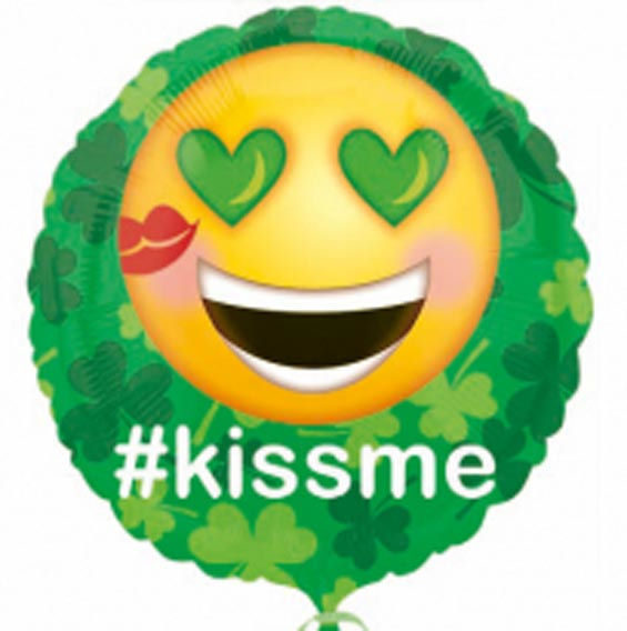 # Kissme - Emoticon - Folie Ballon - 17 Inch/43cm