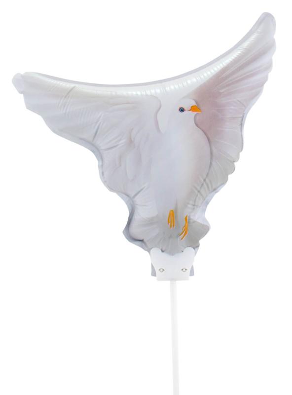Duif - Folie ballon - S / 21 cm