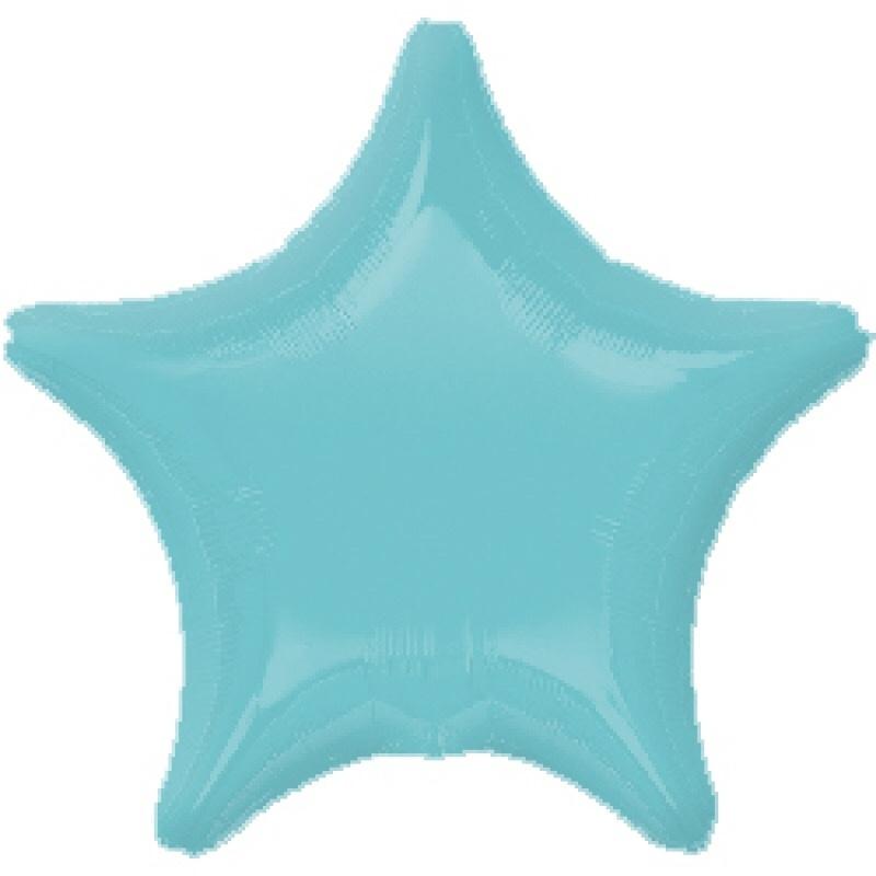 Ster - Mint - Folie Ballon - 20 Inch/50cm