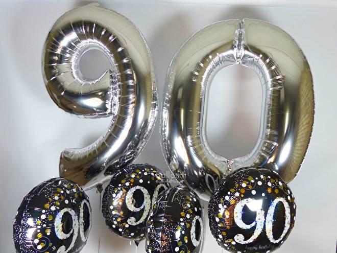 feestartikelen voor 90 jaar, ballonnen voor 90 jaar