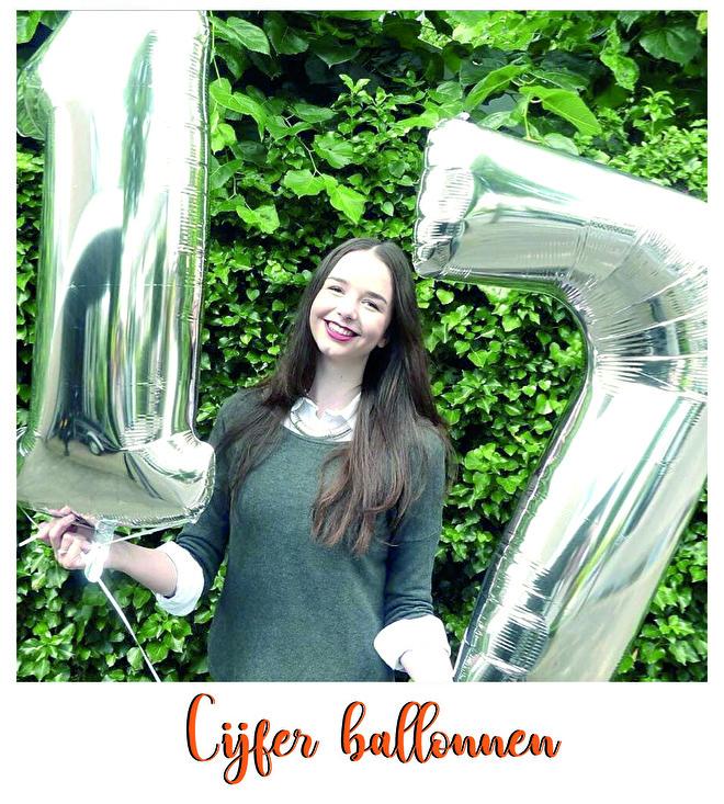 Cijfer ballonnen voor elke leeftijd ballonplus.nl