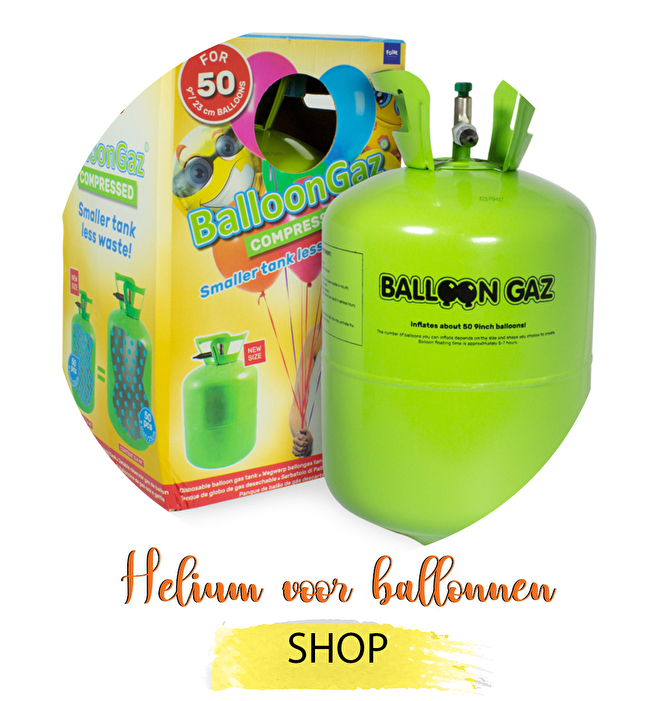 Helium voor ballonnen bestellen ballonnen tank kopen