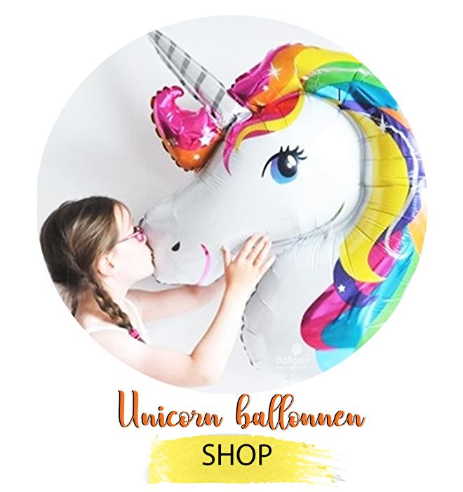 Unicorn ballonnnen op ballonplus.nl