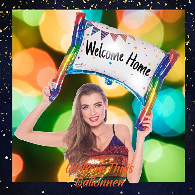 Welkom thuis ballonnen