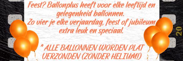 Feest, ballonnen voor verjaardag, jubileum , babyshower. alle ballonnen worden zonder helium verzonden