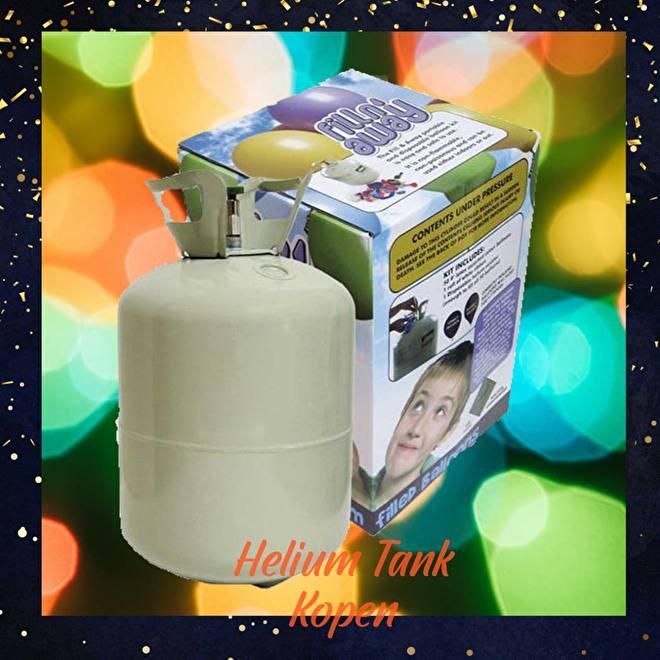 Helium Tank Kopen voor eigen gebruik