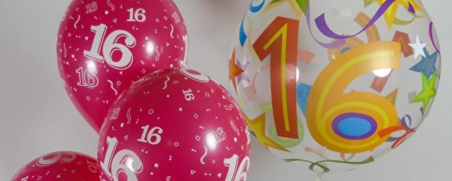 Cijfers - Getallen - Helium - latex ballonnen