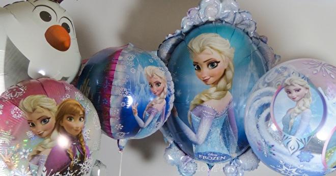 Frozen - Anna - Elsa - Olaf - Helium Folie Ballonnen
