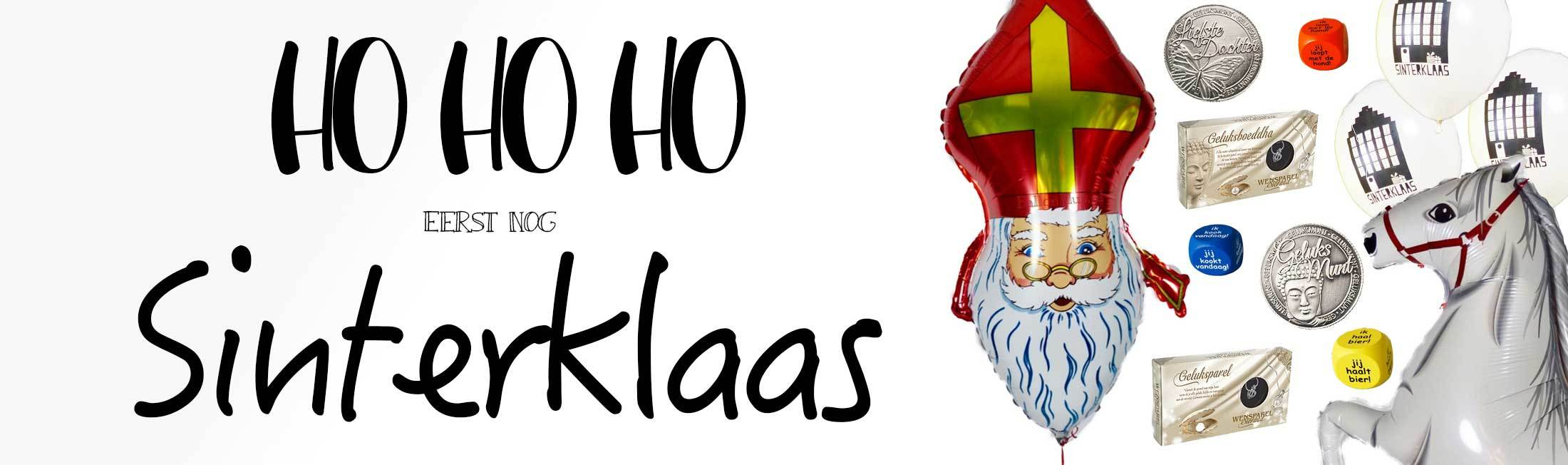 Sinterklaas Ballonplus