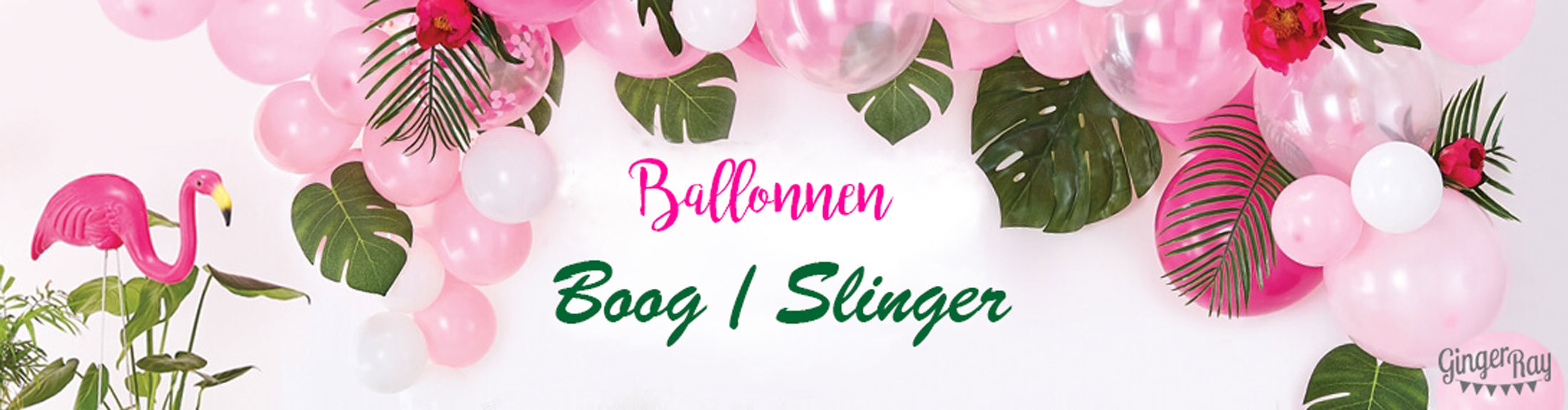 Ballonnen boog-slinger