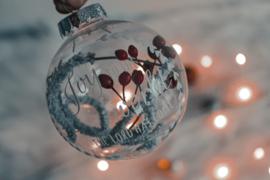 Kerstbal- droogbloem