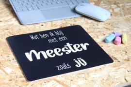 Muismat -  Meester