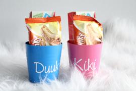 beker- drinken -koekje