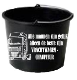 Emmer vrachtwagenchauffeur