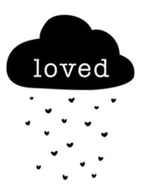 Strijkapplicatie - loved