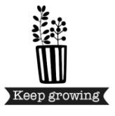 Strijkapplicatie - keep growing