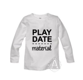 play date - material