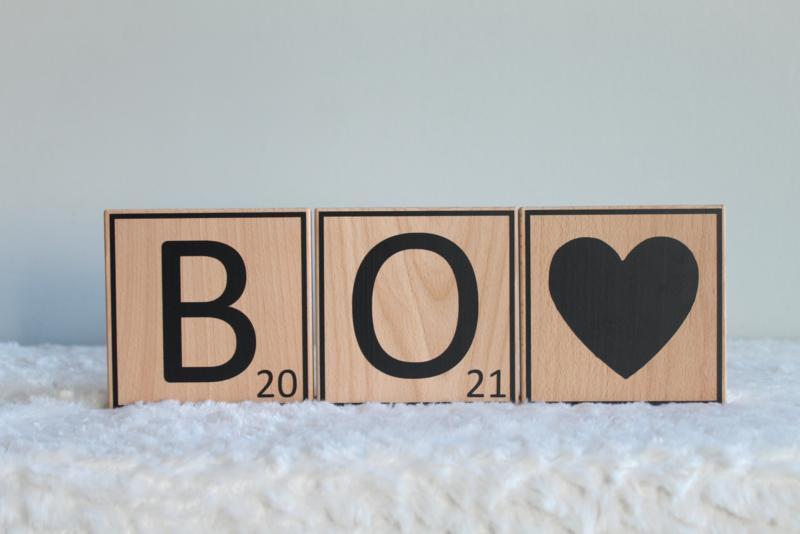 Scrabble letters -12 cm