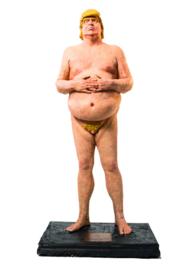 The Emperor has no Balls - mini standbeeld