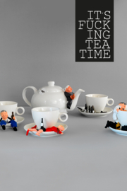 It's Fucking Tea Time - theeservies € 149,50