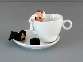 It's Fucking Tea Time - tea cup € 34,95