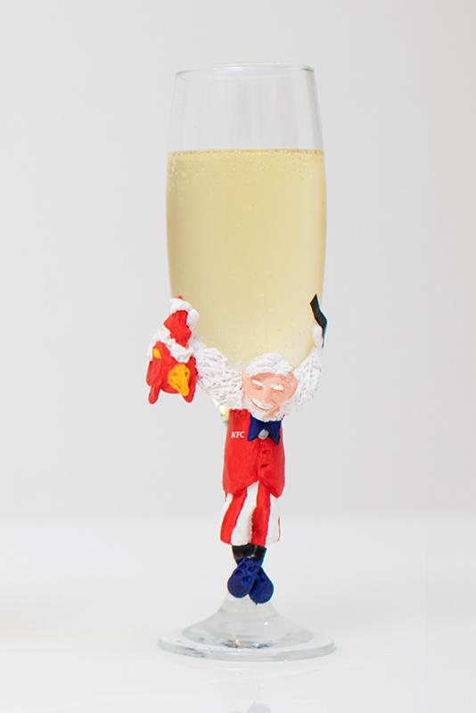 Guilty Pleasure KFC champagneglas