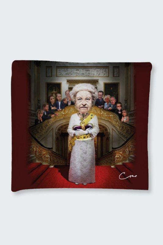 God Save the Queen - kussen