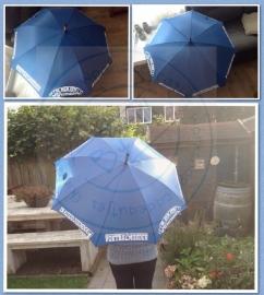 Paraplu ik ben een weervaste ....voetbalmoeder