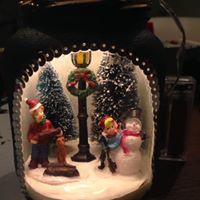 Gezellig winter/kersttafreel in pot maken ; creatieve workshop