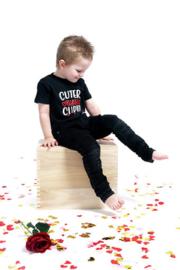 Valentijns shirt ; cuter than Cupid of cupid's little helper