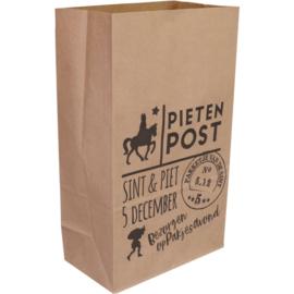 blokbodemzak pietenpost voor pakjesavond