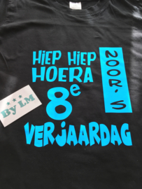 Verjaardags t-shirt