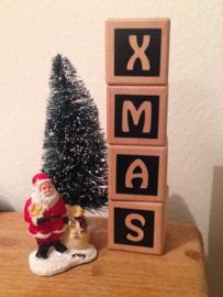 Naamblokken XMAS (kerst)