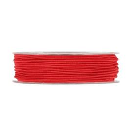 Elastisch koord, rood 5 meter