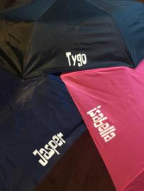 Paraplu van .... Paraplu met naam