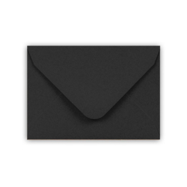 A7 enveloppe, zwart