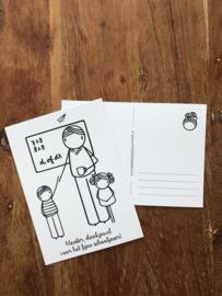 cadeau- /ansichtkaarten