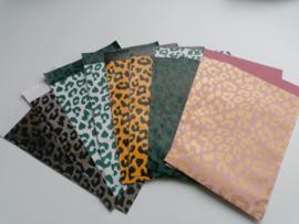 Set van 10 cheetah cadeauzakje 5x2