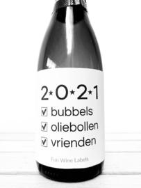 zelfklevend wijnetiket  2021  Mama Drinkt Wijn