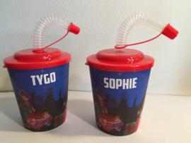 3D-drinkbeker Sinterklaas met naam