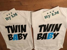 Romperset Twin Baby A en B