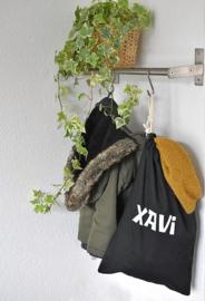 Opberg zak met naam,  ideaal voor winterspullen, gymspullen of slaapgoed