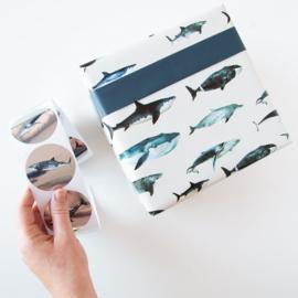Inpakpapier sealife