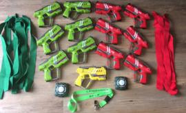Huur lasergame pakket 12+1 laserguns