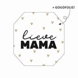 Lieve mama (sluit)sticker