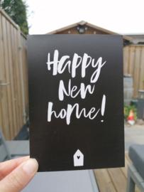 kaart happy new home!